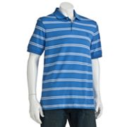 Chaps Easy-Care Yarn-Dyed Striped Polo - Big and Tall