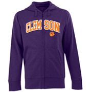 Clemson Tigers Signature Zip Front Fleece Hoodie - Men