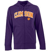 Men's Clemson Tigers Signature Zip Front Fleece Hoodie