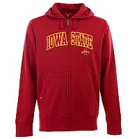Men's Iowa State Cyclones Signature Zip Front Fleece Hoodie