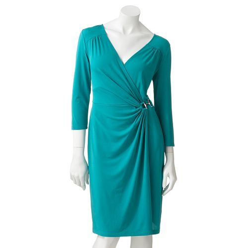 Apt. 9 Surplice Faux-Wrap Dress