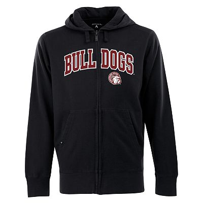 Mississippi State Bulldogs Signature Zip Front Fleece Hoodie - Men