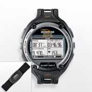 Timex Ironman Global Trainer Digital Chronograph GPS Watch and Flex-Tech Digital 2.4 Heart Rate Monitor Set - T5K444F5