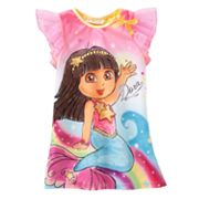 Dora the Explorer Mermaid Nightgown - Toddler