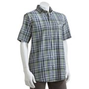 Chaps Yucatan Plaid Casual Button-Down Shirt - Big and Tall