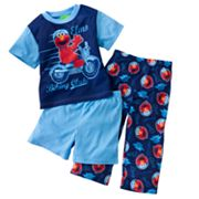Sesame Street Elmo Biking Club Pajama Set - Toddler