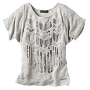 Rock and Republic Chevron Sparkle Top - Girls 7-16