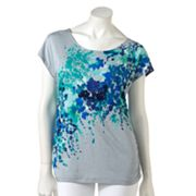 Apt. 9 Watercolor Embellished Tee