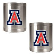Arizona Wildcats 2-pc. Stainless Steel Can Holder Set