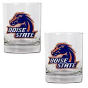 Boise State Broncos 2-pc. Rocks Glass Set