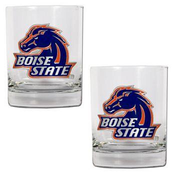 Boise State Broncos 2-pc. Rocks Glass Set