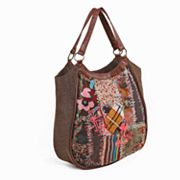 Nikky by Nicole Lee Shianne Embroidered Tote