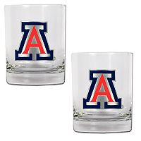 Arizona Wildcats 2-pc. Rocks Glass Set