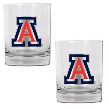 Arizona Wildcats 2-pc. Rocks Glass Set