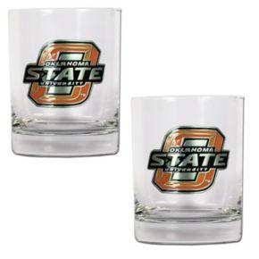 Oklahoma State Cowboys 2-pc. Rocks Glass Set