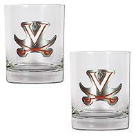 Virginia Cavaliers 2-pc. Rocks Glass Set