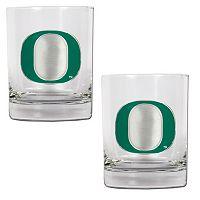 Oregon Ducks 2-pc. Rocks Glass Set