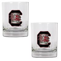 South Carolina Gamecocks 2-pc. Rocks Glass Set