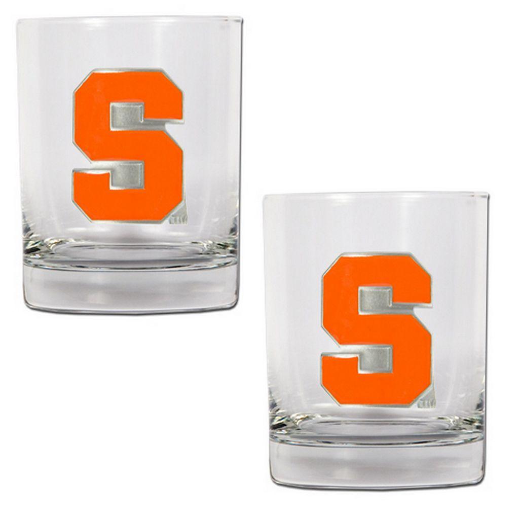 Syracuse Orange 2-pc. Rocks Glass Set