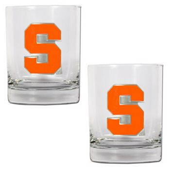 Syracuse Orange 2-pc. Rocks Glass Set