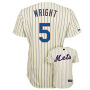 Majestic New York Mets David Wright Jersey - Men