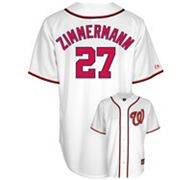 Majestic Washington Nationals Jordan Zimmermann Jersey - Men