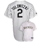 Majestic Colorado Rockies Troy Tulowitzki Jersey - Men