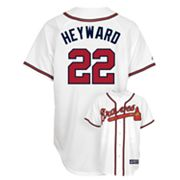 Majestic Atlanta Braves Jason Heyward Jersey - Men