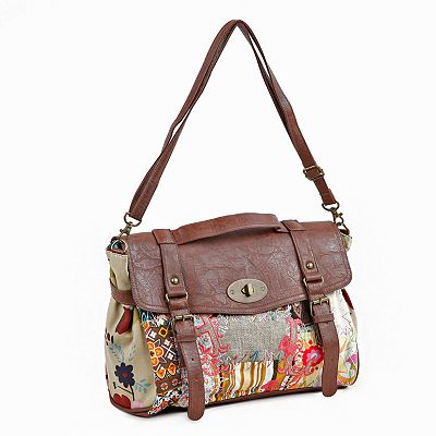 Nikky by Nicole Lee Shianne Sew Wild Messenger Bag