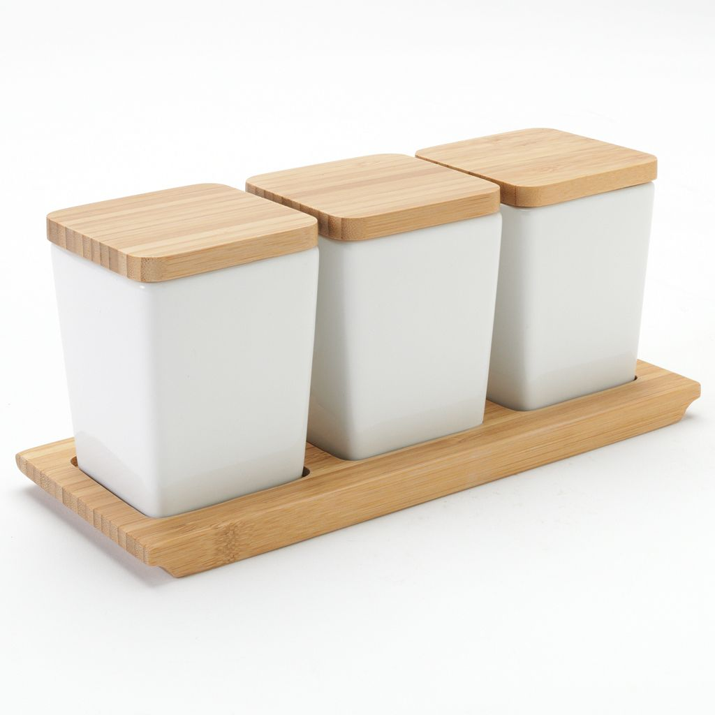Food Network™ Bamboo Condiment Tray