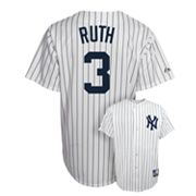 Majestic New York Yankees Babe Ruth Cooperstown Collection Jersey - Men