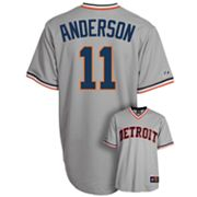 Majestic Detroit Tigers Sparky Anderson Cooperstown Collection Jersey - Men