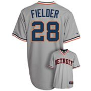 Majestic Detroit Tigers Prince Fielder Cooperstown Collection Jersey - Men