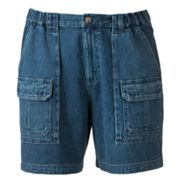 Croft and Barrow Denim Cargo Shorts - Big and Tall