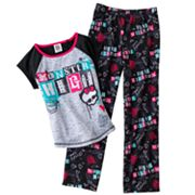Monster High Pajama Set - Girls