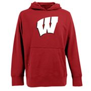 Wisconsin Badgers Signature Fleece Hoodie - Men
