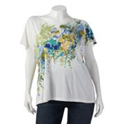 Apt. 9 Printed Embellished Top - Women's Plus