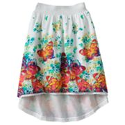Candie's Butterfly Hi-Low Maxi Skirt - Girls 7-16