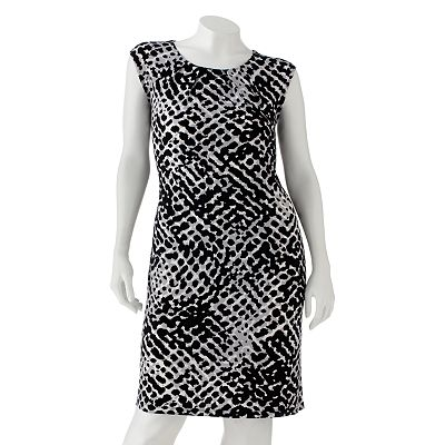 Apt. 9 Printed Shift Dress - Women's Plus