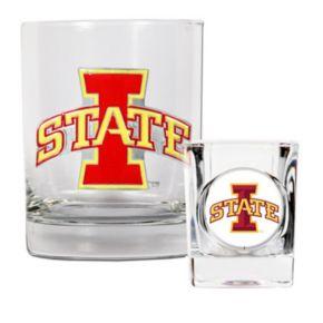 Iowa State Cyclones 2-pc. Rocks Glass and Shot Glass Set