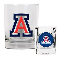 Arizona Wildcats 2-pc. Rocks Glass & Shot Glass Set