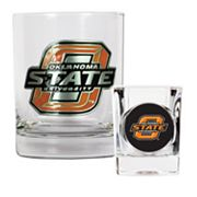 Oklahoma State Cowboys 2-pc. Rocks Glass and Shot Glass Set