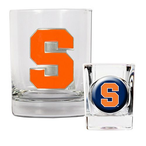 Syracuse Orange 2-pc. Rocks Glass & Shot Glass Set
