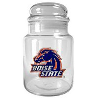 Boise State Broncos Glass Candy Jar