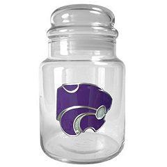 Kansas State Wildcats Glass Candy Jar