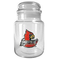 Louisville Cardinals Glass Candy Jar