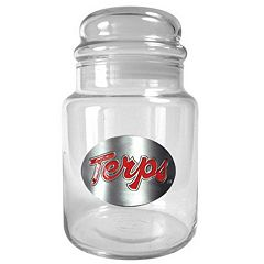Maryland Terrapins Glass Candy Jar