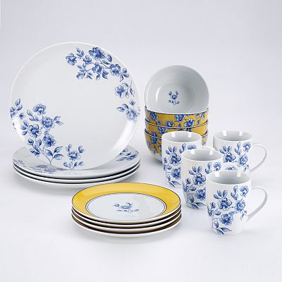 Paula Deen Signature Spring Prelude 16-pc. Dinnerware Set