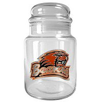 Oregon State Beavers Glass Candy Jar