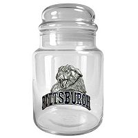 Pittsburgh Panthers Glass Candy Jar